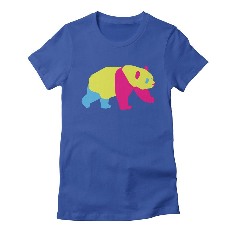 Pride PANda Women's T-Shirt by Cory & Mike's Artist Shop