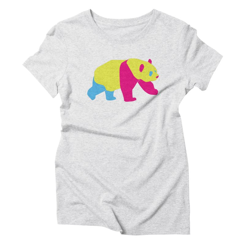 Pride PANda Women's Triblend T-Shirt by Cory & Mike's Artist Shop