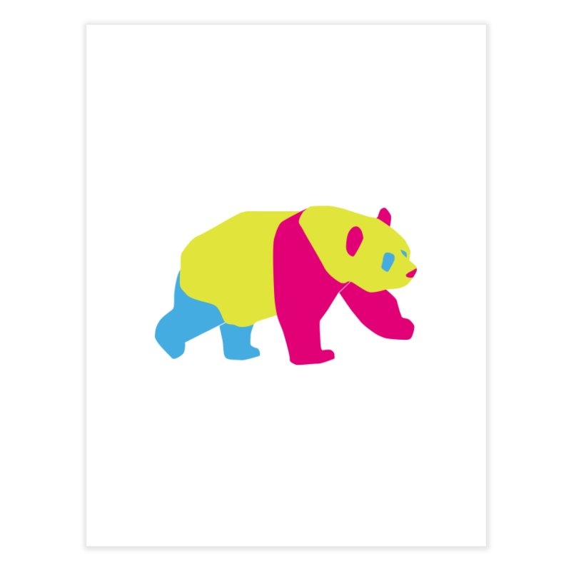 Pride PANda Home Fine Art Print by Cory & Mike's Artist Shop