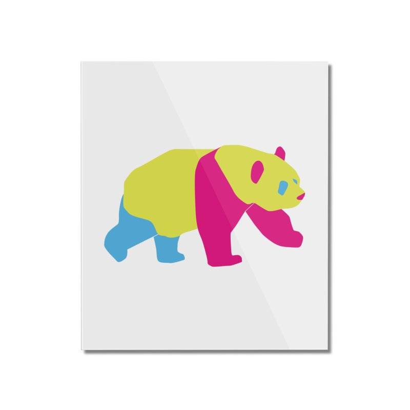Pride PANda Home Mounted Acrylic Print by Cory & Mike's Artist Shop