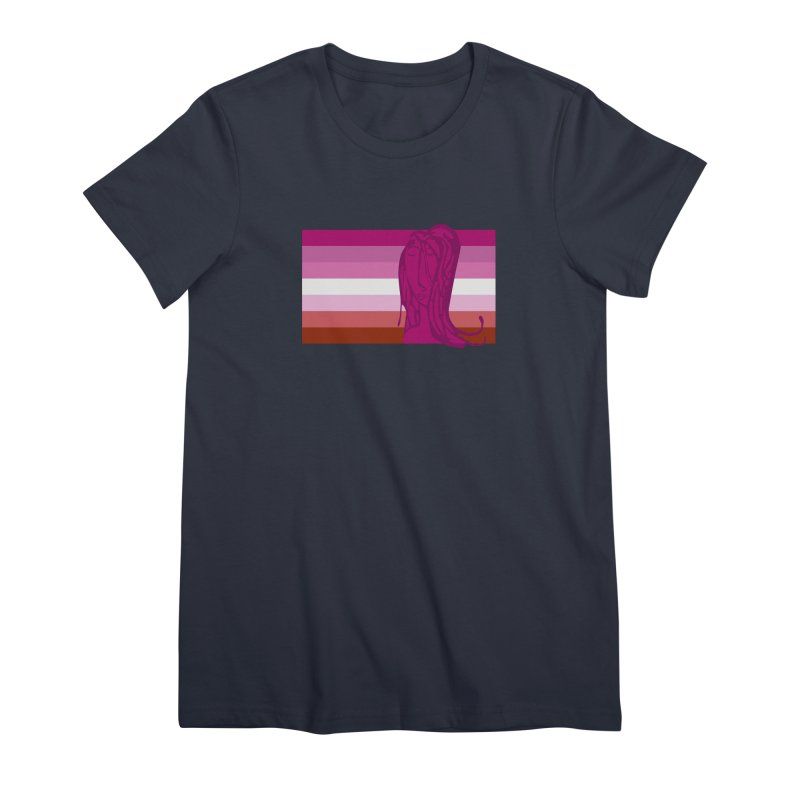 She Women's Premium T-Shirt by Cory & Mike's Artist Shop