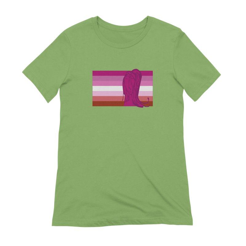 She Women's Extra Soft T-Shirt by Cory & Mike's Artist Shop