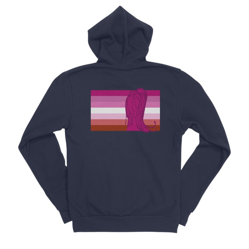 She Men's Sponge Fleece Zip-Up Hoody by Cory & Mike's Artist Shop