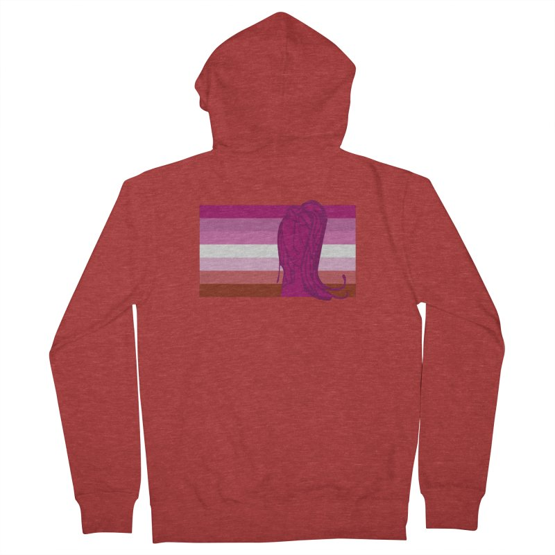 She Women's French Terry Zip-Up Hoody by Cory & Mike's Artist Shop