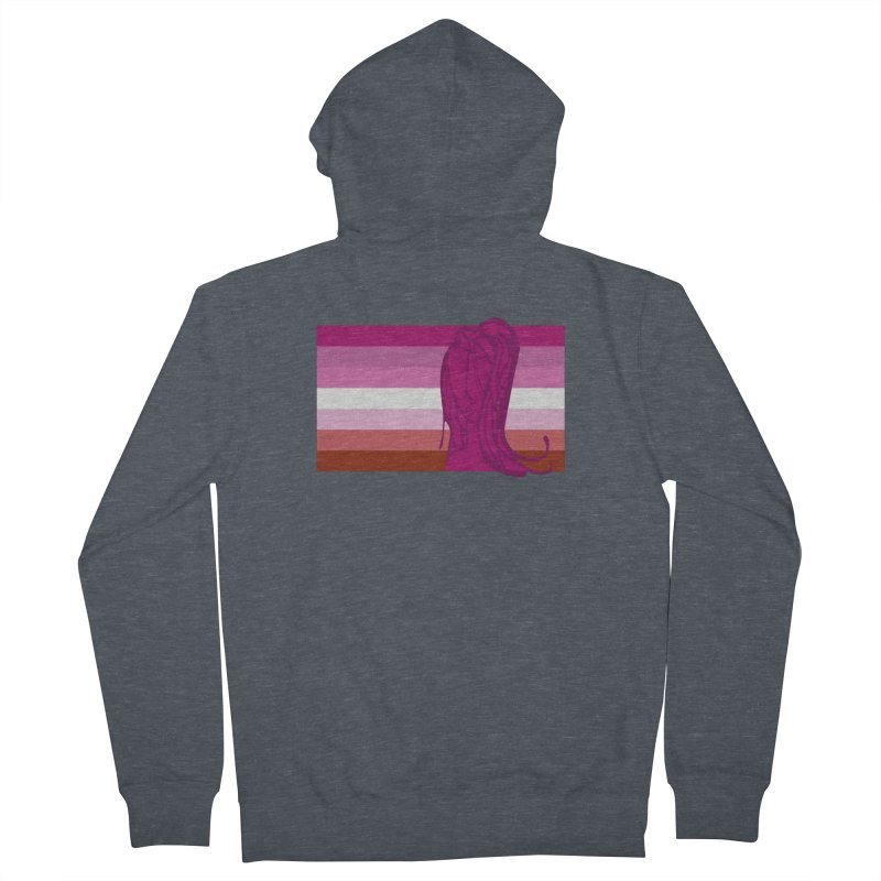 She Men's French Terry Zip-Up Hoody by Cory & Mike's Artist Shop