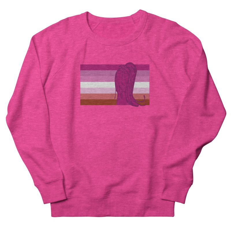She Women's French Terry Sweatshirt by Cory & Mike's Artist Shop