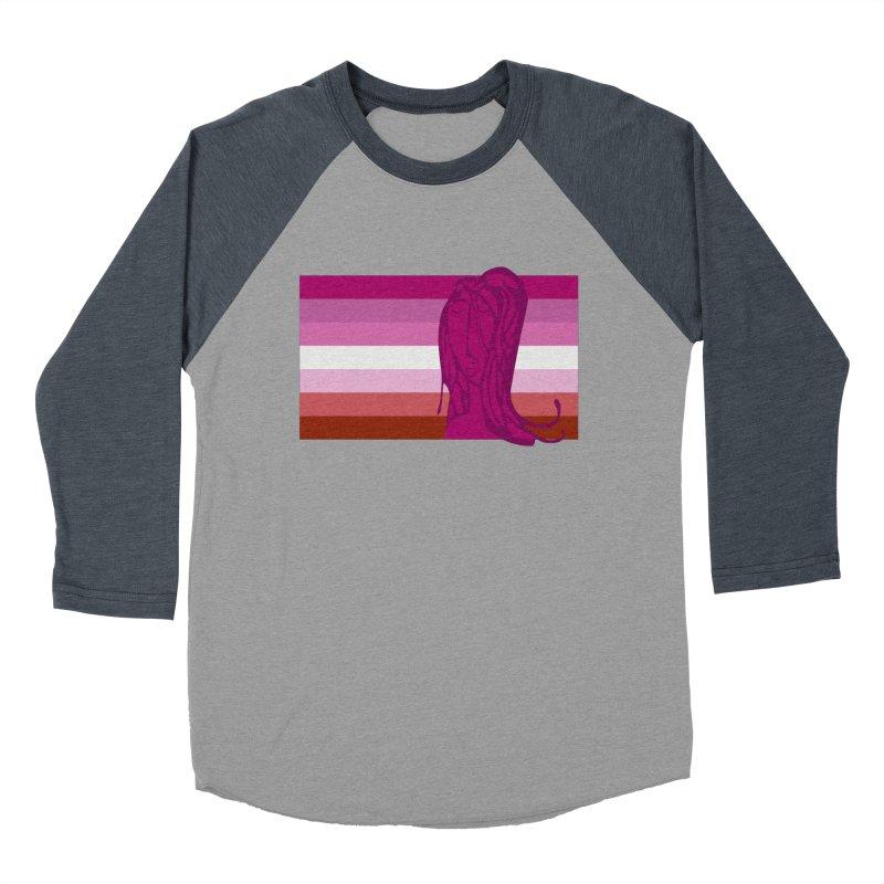She Women's Baseball Triblend Longsleeve T-Shirt by Cory & Mike's Artist Shop