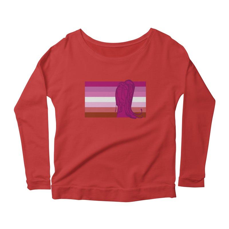 She Women's Scoop Neck Longsleeve T-Shirt by Cory & Mike's Artist Shop