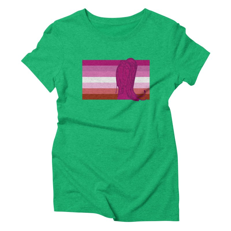 She Women's Triblend T-Shirt by Cory & Mike's Artist Shop