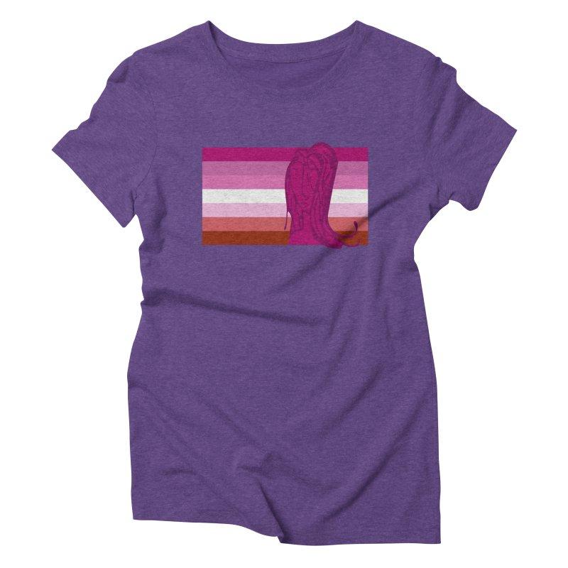 She Women's Triblend T-Shirt by Cory & Mike's Artist Shop