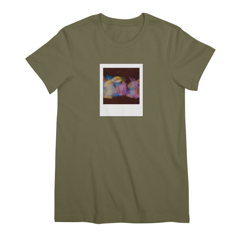 Multiply Like Rabbits Women's Premium T-Shirt by Cory & Mike's Artist Shop