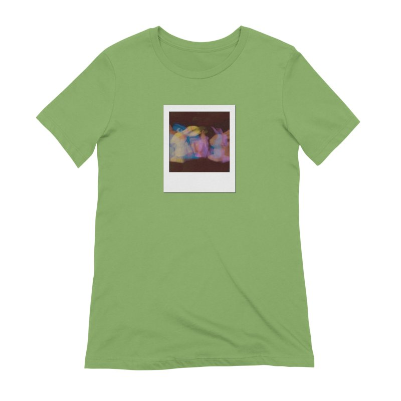 Multiply Like Rabbits Women's Extra Soft T-Shirt by Cory & Mike's Artist Shop