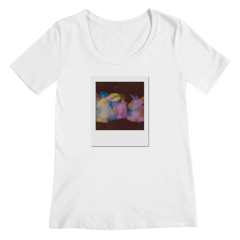 Multiply Like Rabbits Women's Regular Scoop Neck by Cory & Mike's Artist Shop