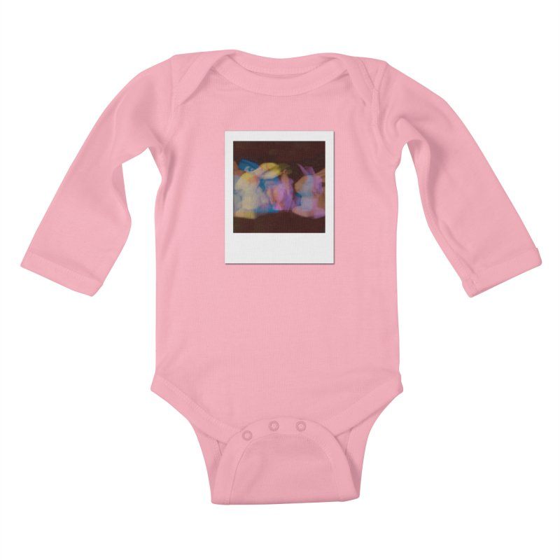 Multiply Like Rabbits Kids Baby Longsleeve Bodysuit by Cory & Mike's Artist Shop