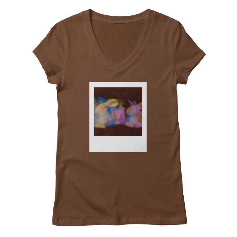 Multiply Like Rabbits Women's Regular V-Neck by Cory & Mike's Artist Shop