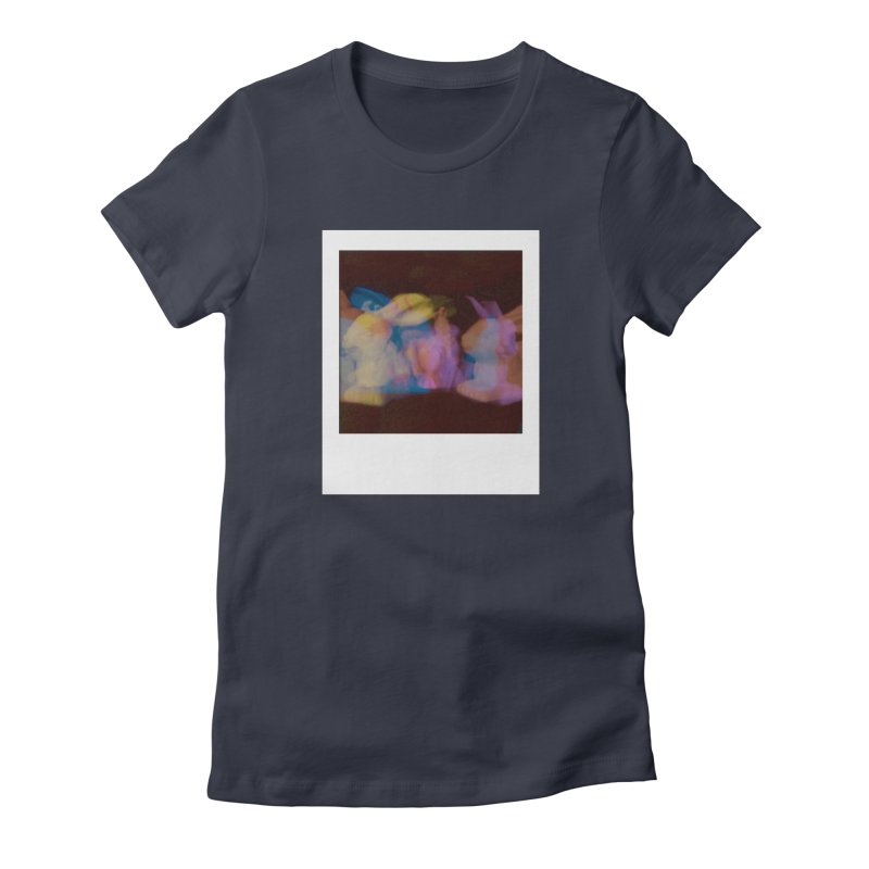 Multiply Like Rabbits Women's Fitted T-Shirt by Cory & Mike's Artist Shop