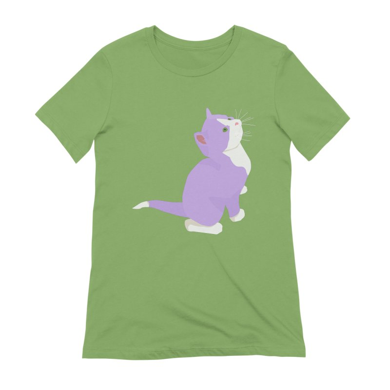 GQ the Genderqueer Kitten Women's Extra Soft T-Shirt by Cory & Mike's Artist Shop