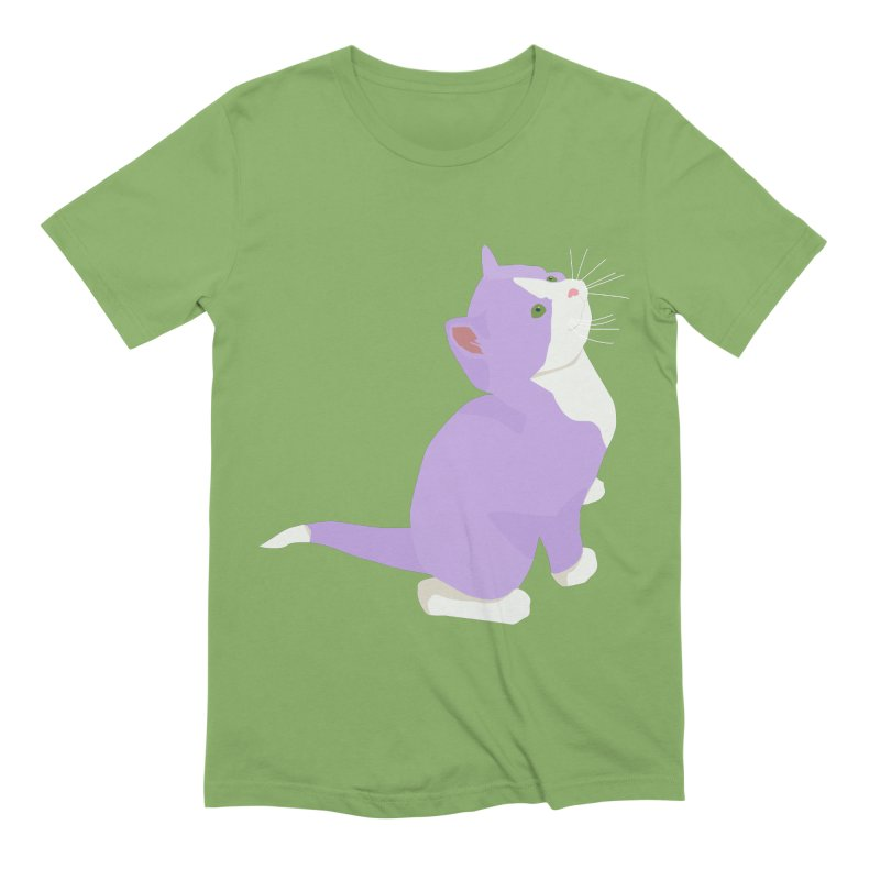 GQ the Genderqueer Kitten Men's Extra Soft T-Shirt by Cory & Mike's Artist Shop