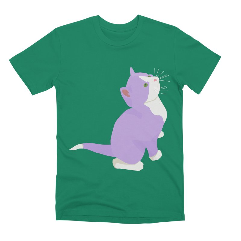 GQ the Genderqueer Kitten Men's Premium T-Shirt by Cory & Mike's Artist Shop