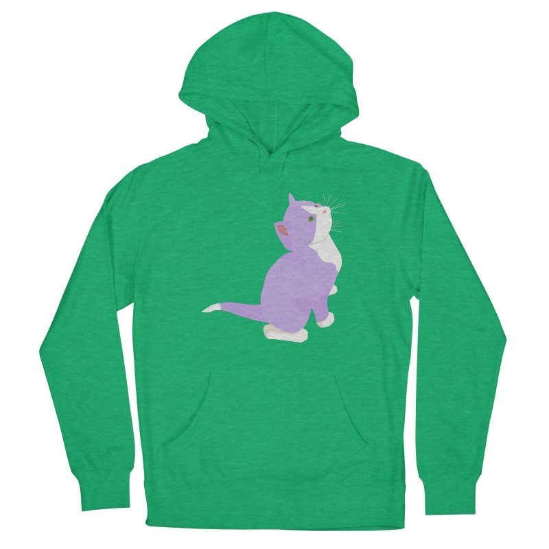 GQ the Genderqueer Kitten Women's Pullover Hoody by Cory & Mike's Artist Shop