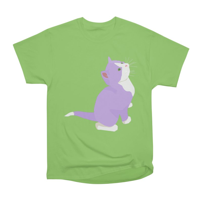 GQ the Genderqueer Kitten Women's Heavyweight Unisex T-Shirt by Cory & Mike's Artist Shop