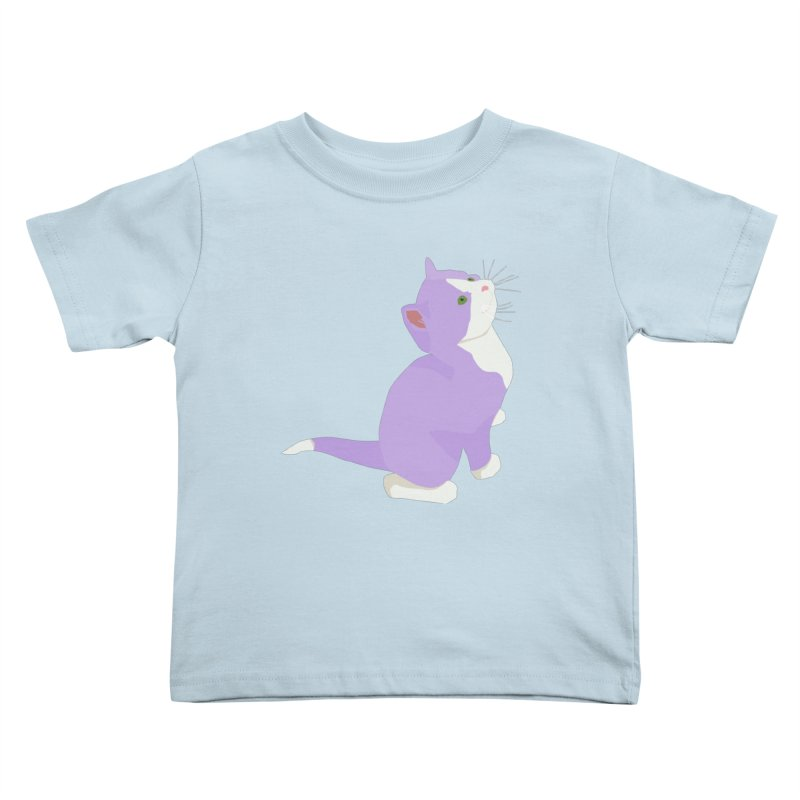 GQ the Genderqueer Kitten Kids Toddler T-Shirt by Cory & Mike's Artist Shop