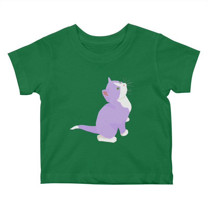 GQ the Genderqueer Kitten Kids Baby T-Shirt by Cory & Mike's Artist Shop