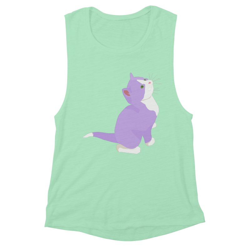 GQ the Genderqueer Kitten Women's Tank by Cory & Mike's Artist Shop