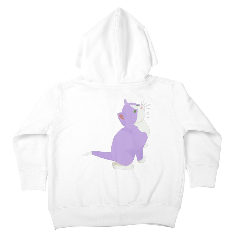 GQ the Genderqueer Kitten Kids Toddler Zip-Up Hoody by Cory & Mike's Artist Shop