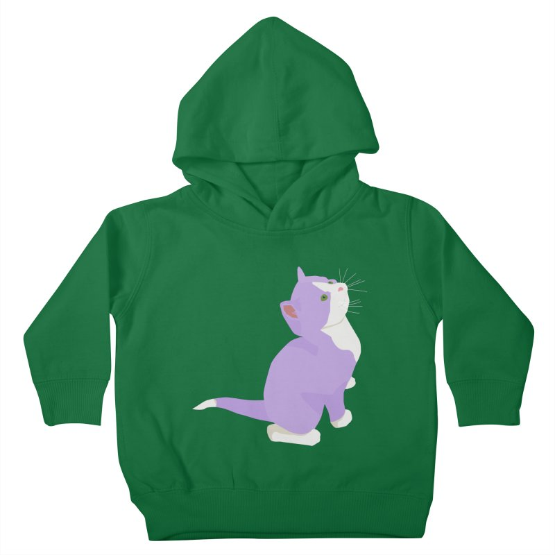 GQ the Genderqueer Kitten Kids Toddler Pullover Hoody by Cory & Mike's Artist Shop