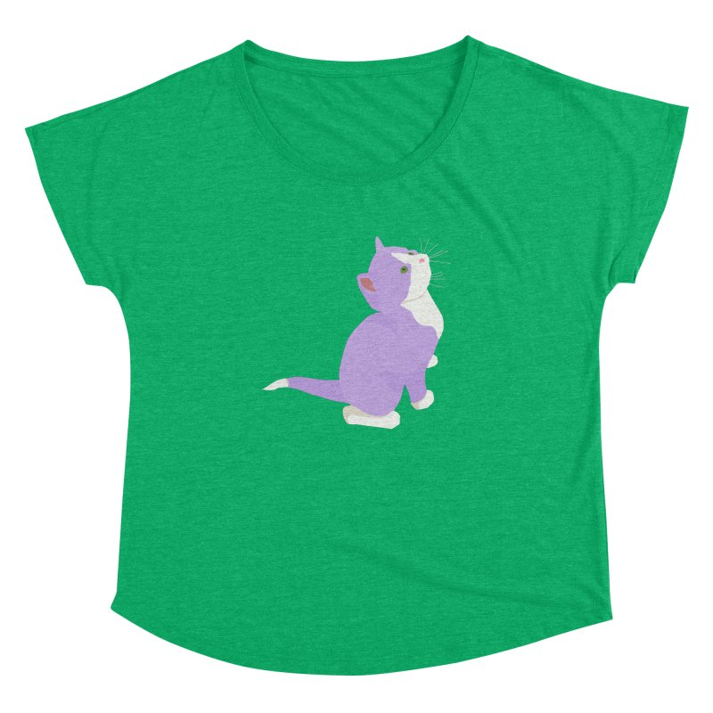 GQ the Genderqueer Kitten Women's Dolman Scoop Neck by Cory & Mike's Artist Shop