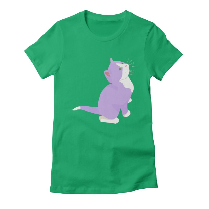 GQ the Genderqueer Kitten Women's T-Shirt by Cory & Mike's Artist Shop