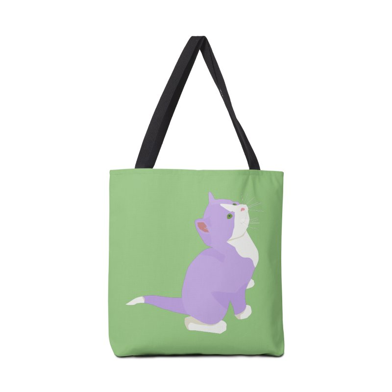 GQ the Genderqueer Kitten Accessories Tote Bag Bag by Cory & Mike's Artist Shop