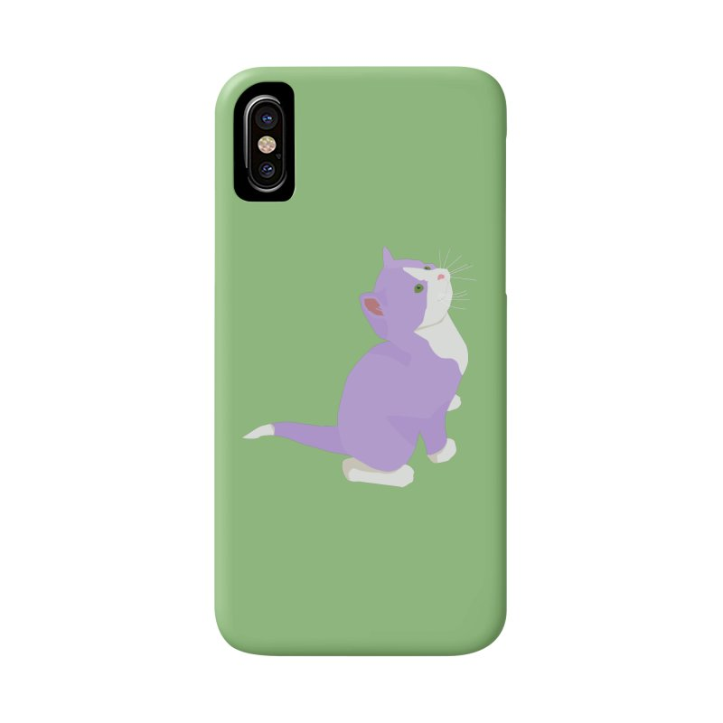 GQ the Genderqueer Kitten Accessories Phone Case by Cory & Mike's Artist Shop