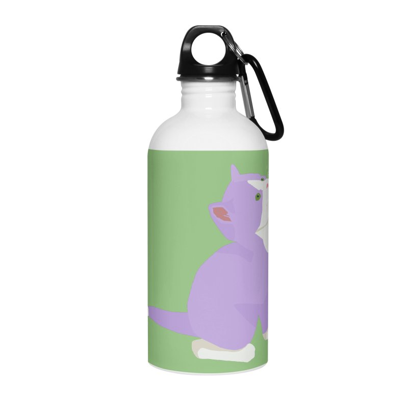 GQ the Genderqueer Kitten Accessories Water Bottle by Cory & Mike's Artist Shop