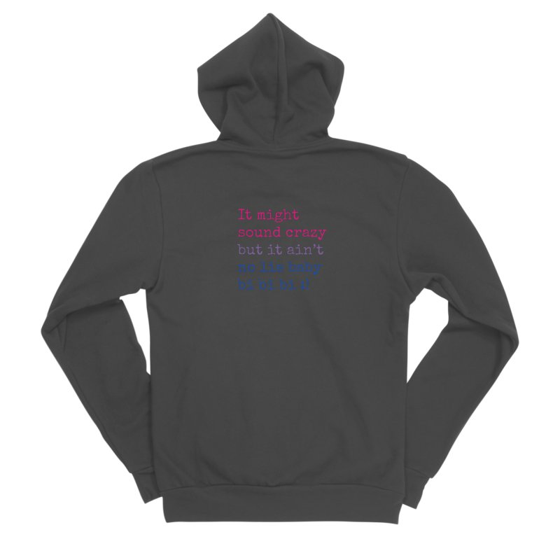 Bi Bi Bi Men's Sponge Fleece Zip-Up Hoody by Cory & Mike's Artist Shop