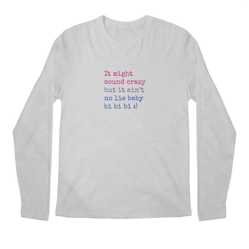 Bi Bi Bi Men's Regular Longsleeve T-Shirt by Cory & Mike's Artist Shop