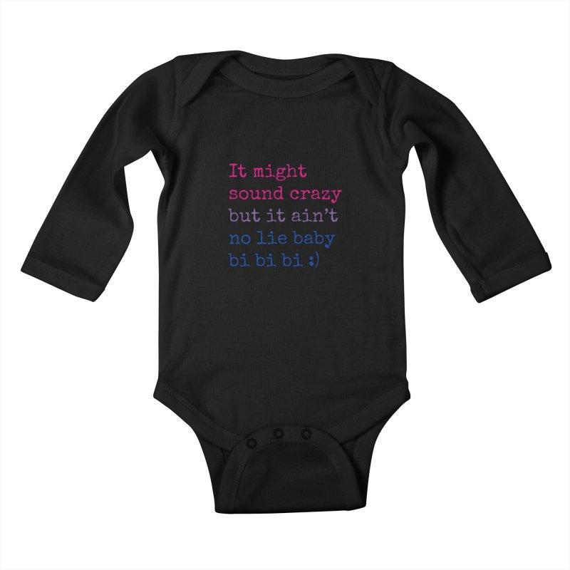 Bi Bi Bi Kids Baby Longsleeve Bodysuit by Cory & Mike's Artist Shop
