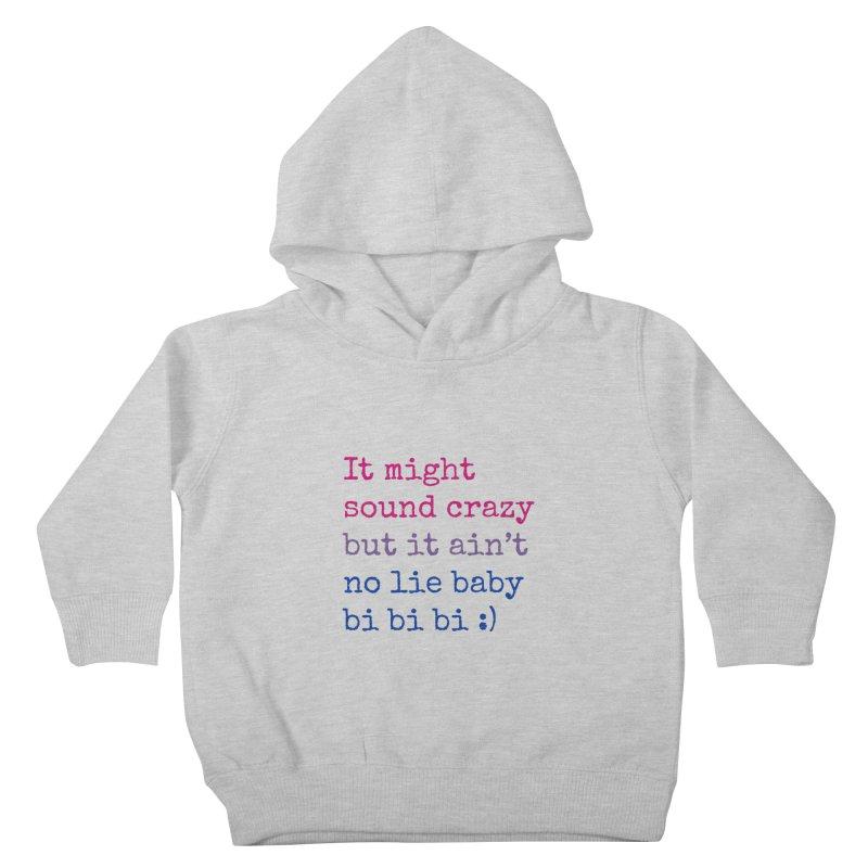 Bi Bi Bi Kids Toddler Pullover Hoody by Cory & Mike's Artist Shop