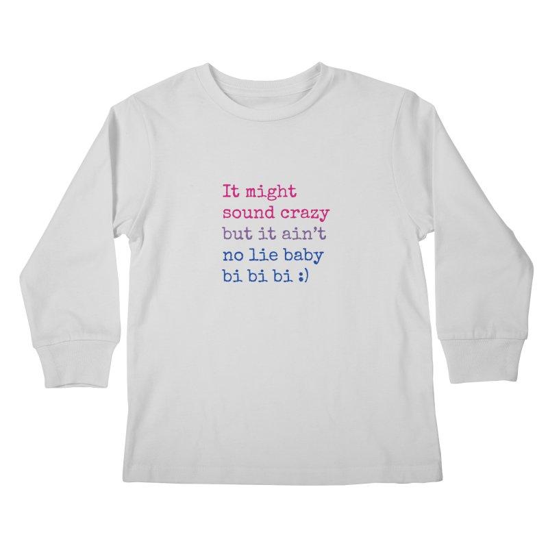 Bi Bi Bi Kids Longsleeve T-Shirt by Cory & Mike's Artist Shop