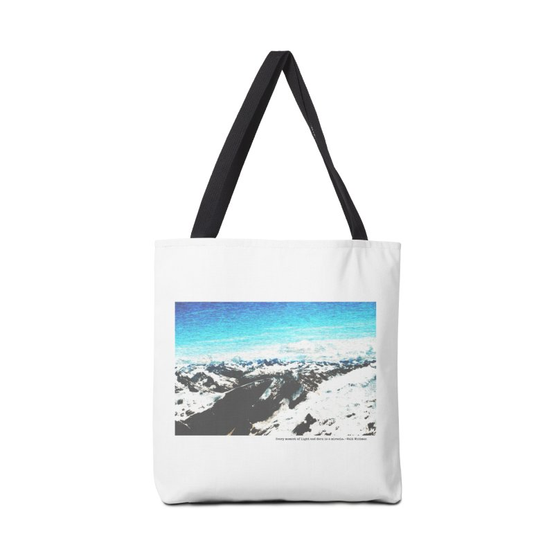 Every Moment of Light and Dark is a Miracle Accessories Tote Bag Bag by Cory & Mike's Artist Shop