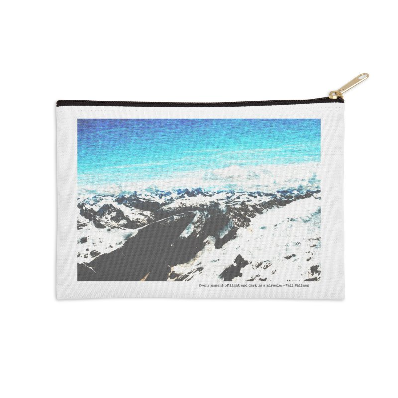 Every Moment of Light and Dark is a Miracle Accessories Zip Pouch by Cory & Mike's Artist Shop