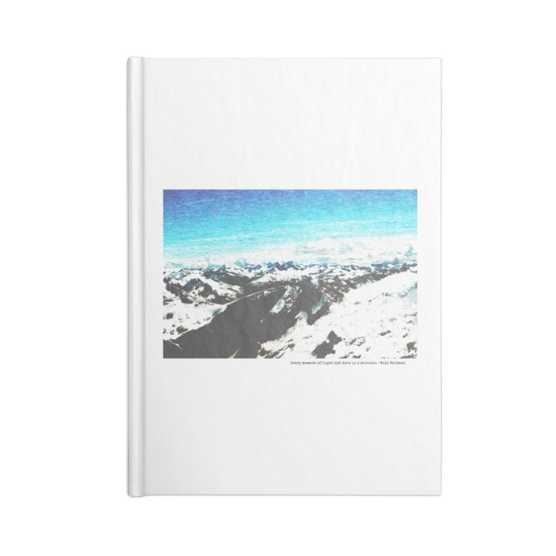 Every Moment of Light and Dark is a Miracle Accessories Blank Journal Notebook by Cory & Mike's Artist Shop