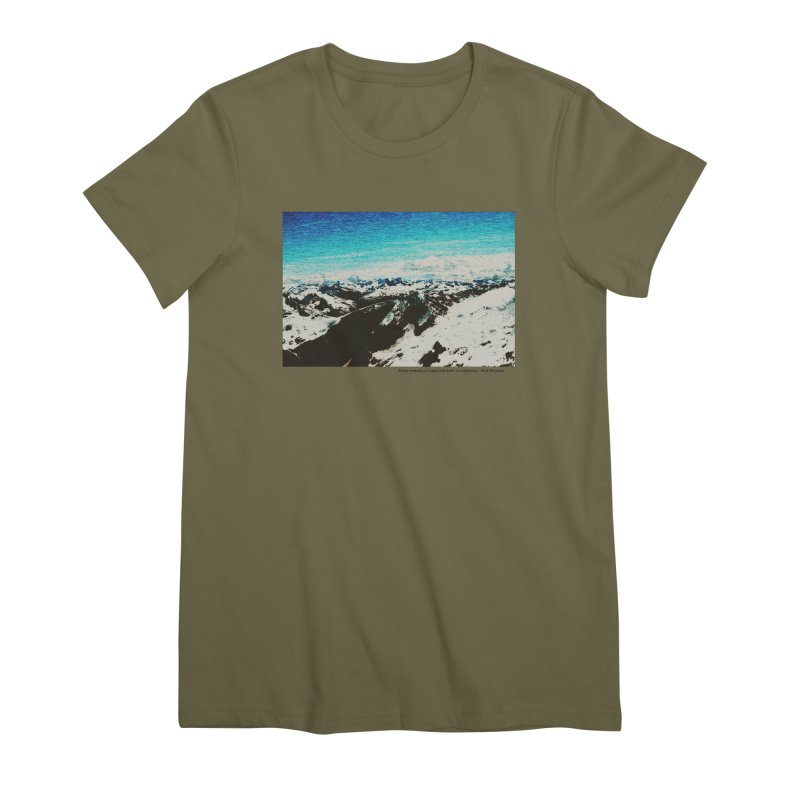 Every Moment of Light and Dark is a Miracle Women's Premium T-Shirt by Cory & Mike's Artist Shop