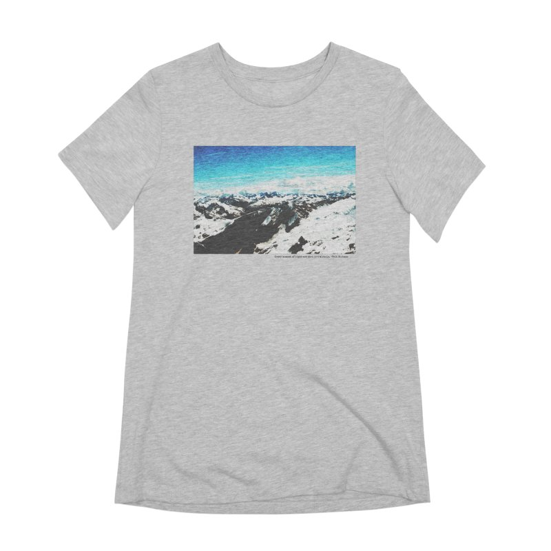 Every Moment of Light and Dark is a Miracle Women's Extra Soft T-Shirt by Cory & Mike's Artist Shop