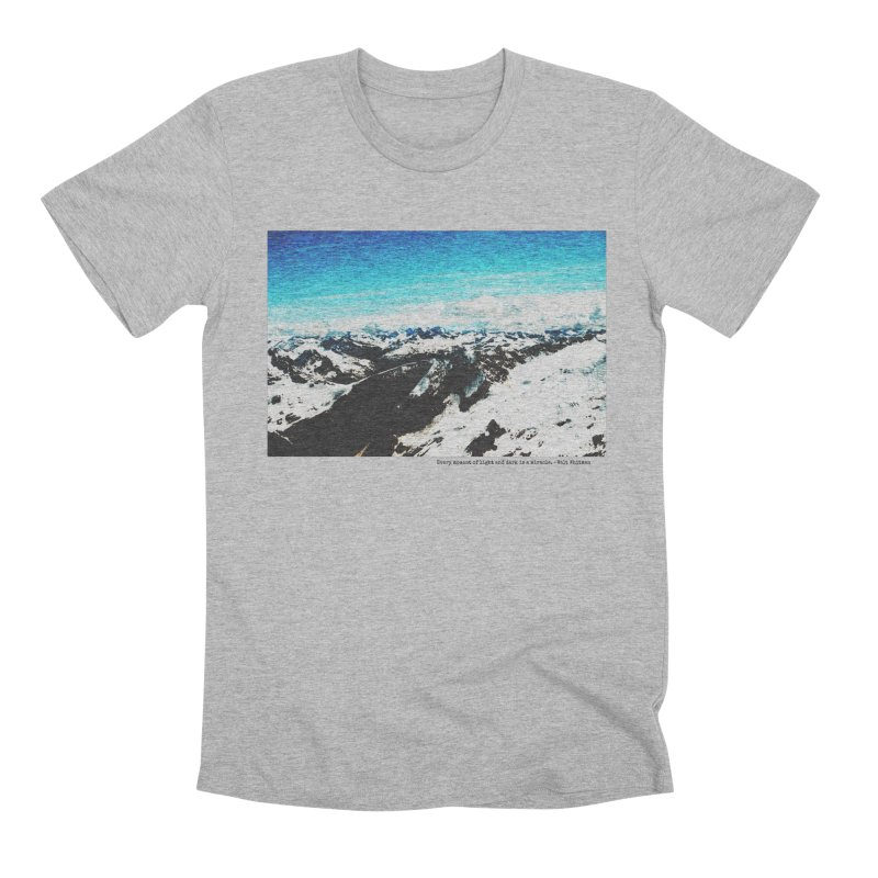 Every Moment of Light and Dark is a Miracle Men's Premium T-Shirt by Cory & Mike's Artist Shop