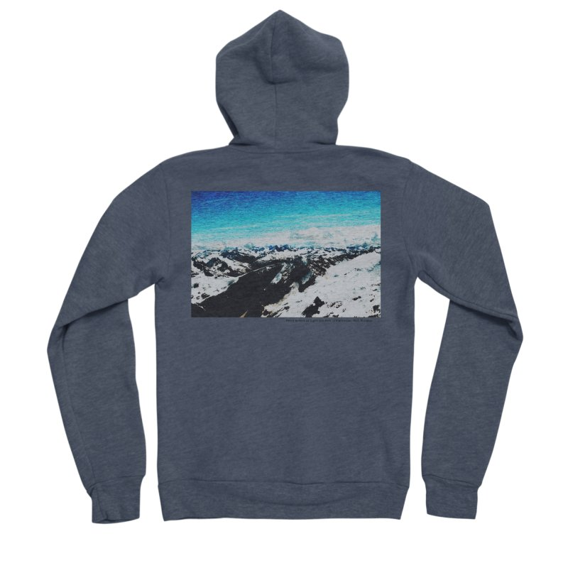 Every Moment of Light and Dark is a Miracle Men's Sponge Fleece Zip-Up Hoody by Cory & Mike's Artist Shop