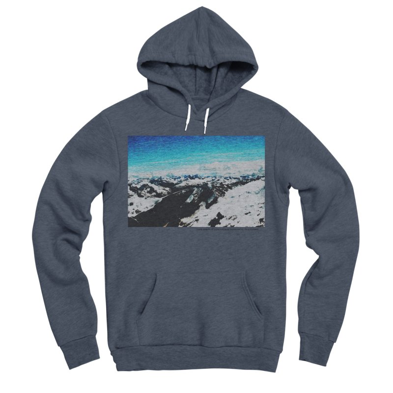 Every Moment of Light and Dark is a Miracle Women's Sponge Fleece Pullover Hoody by Cory & Mike's Artist Shop