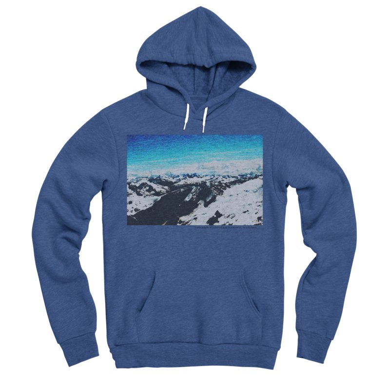 Every Moment of Light and Dark is a Miracle Men's Sponge Fleece Pullover Hoody by Cory & Mike's Artist Shop
