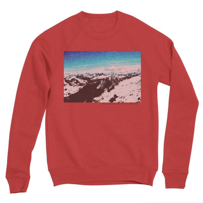 Every Moment of Light and Dark is a Miracle Women's Sponge Fleece Sweatshirt by Cory & Mike's Artist Shop